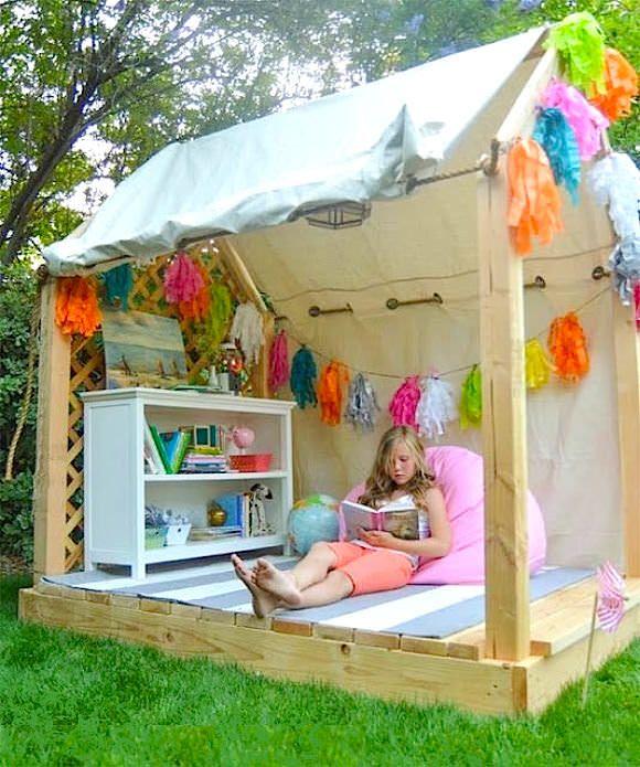 Как сделать дом детский
