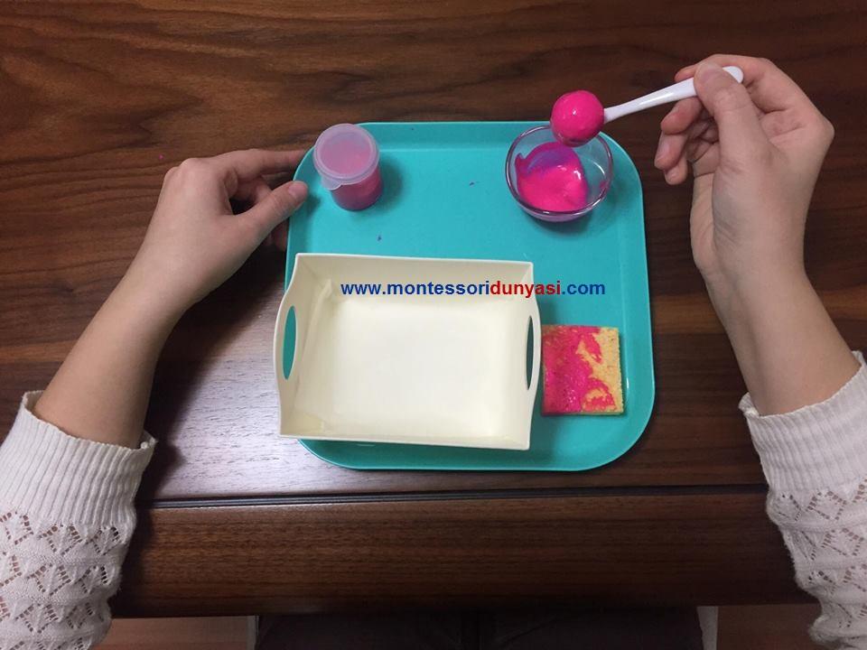 Misketle Boyama Montessori Dunyasi